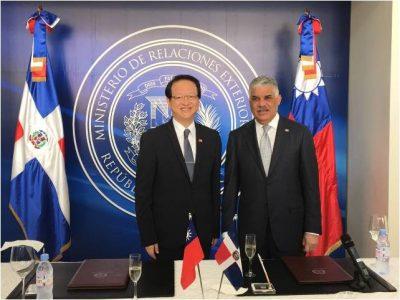 Embajada Dominicana Tiene Plazo De 30 Días Para Retirarse De Taiwán