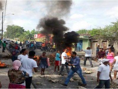 Protestas En Sabana Perdida En Reclamo De Arreglo De Calles