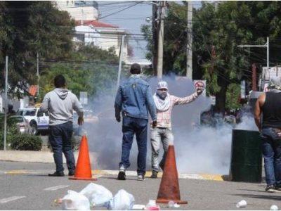 Encapuchados Protestan En La UASD; No Han Suspendido La Docencia