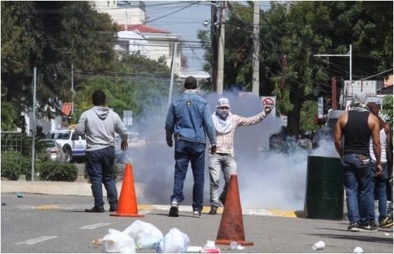 PROTESTAS EN LA UASD