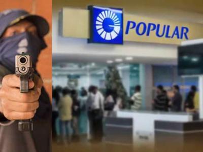 Cinco Desconocidos Asaltan Sucursal Del Banco Popular En El Ensanche Isabelita SDE