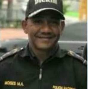 Murió El Mayor Moisés Montero, Herido Ayer En El Enfrentamiento Con Asaltante Del Banco Popular